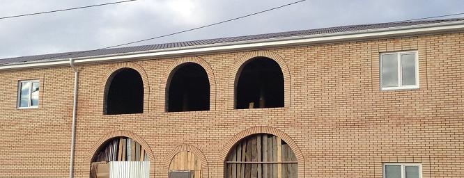 дом из агаповского кирпича