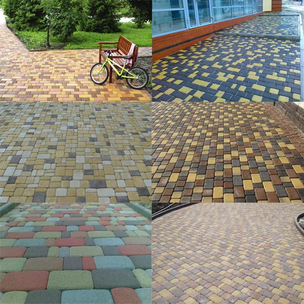 тротуарная плитка старого образца - фото 5
